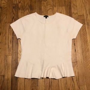 J.Crew Peplum Top